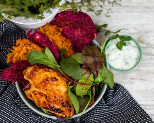 Karotten – Honig Huhn X Wurzeltaler*