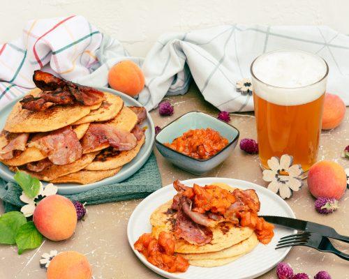 Bier zum Frühstück als Palatschinkenteig- Tag des Bieres*